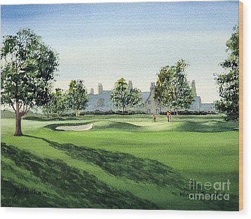 Winged Foot West Golf Course 18th Hole Wood Print