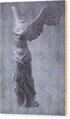 Winged Victory Wood Print by Garry Gay