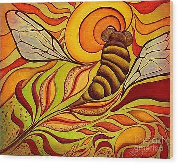 Wings Of Change Wood Print
