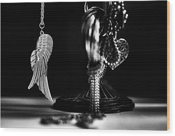 Wings Of Desire II Wood Print by Marco Oliveira
