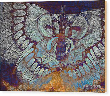 Wings Of Destiny Wood Print by Christopher Beikmann