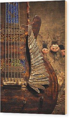 Wings Of Legend Wood Print
