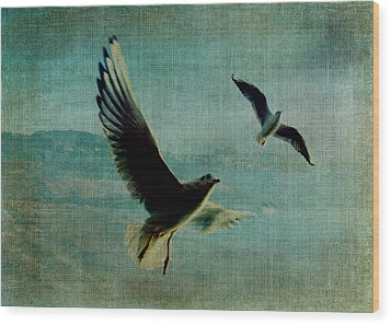 Wings Over The World Wood Print by Sarah Vernon