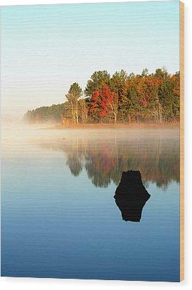 Winnsboro Reservoir-1 Wood Print