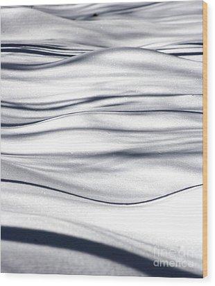 Winter At Last Wood Print