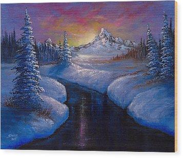 Winter Beauty Wood Print by C Steele
