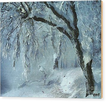 Winter Dreams Wood Print by Dragica  Micki Fortuna
