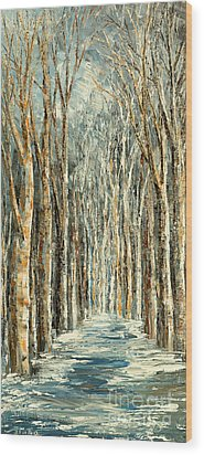 Winter Dreams Wood Print