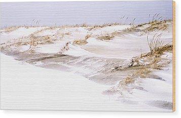 Winter Dunes Wood Print by William Walker