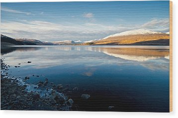 Wood Print featuring the photograph Winter In Glencoe by Stephen Taylor
