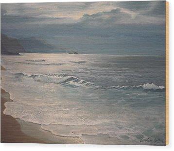 Winter Sea II Wood Print