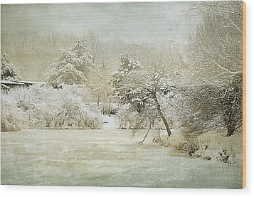 Winter Silence Wood Print