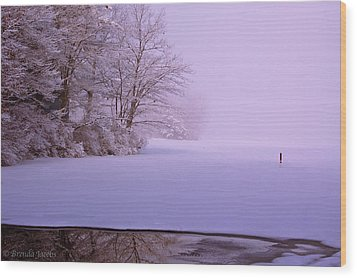 Wood Print featuring the photograph Winter Solstice by Brenda Jacobs