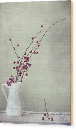 Winter Still Life Wood Print by Priska Wettstein