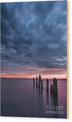Winter Sunrise Wood Print by Matt  Trimble