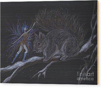 Winter Wear Wood Print by Dawn Fairies