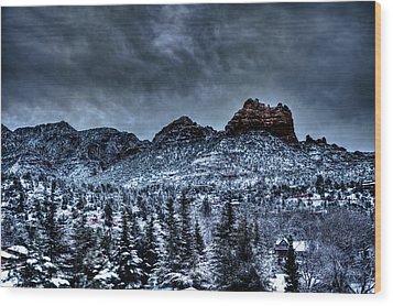 Winter Wonder Wood Print by Bill Cantey