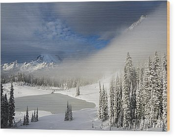 Winter Wonderland Wood Print by Mike  Dawson