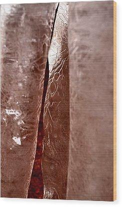 Winter's Daggers Wood Print