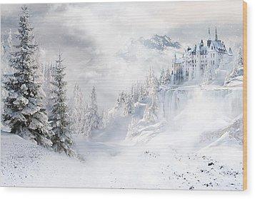 Winters Tale Wood Print