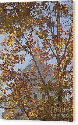 Wisconsin Capitol Wood Print