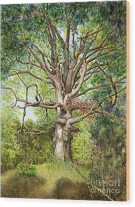 Wisdom Wood Print