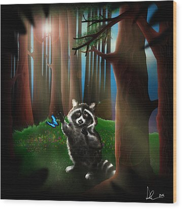 Wishing Upon A Dream Wood Print