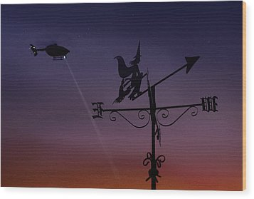 Witch Hunt Wood Print by Richard Piper