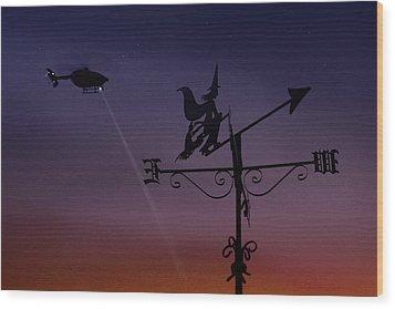 Witch Hunt Wood Print