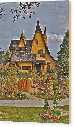 Witches House Wood Print by Joe  Burns