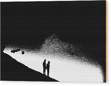 Without Wood Print by Nick David