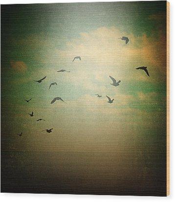 Without Wood Print by Taylan Apukovska