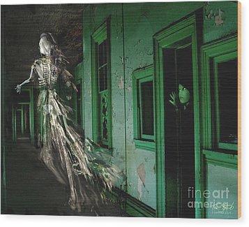 Witness Wood Print by Tom Straub