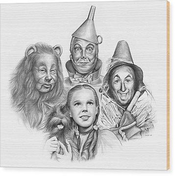Wizard Of Oz Wood Print