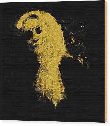 Woman In The Dark Wood Print by Pepita Selles