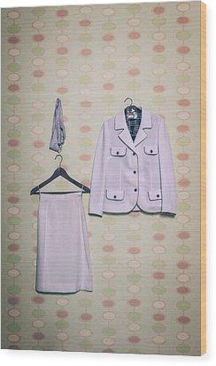 Woman's Clothes Wood Print by Joana Kruse