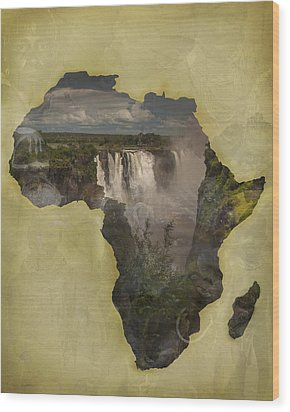 Women Of Africa Wood Print by Nichon Thorstrom