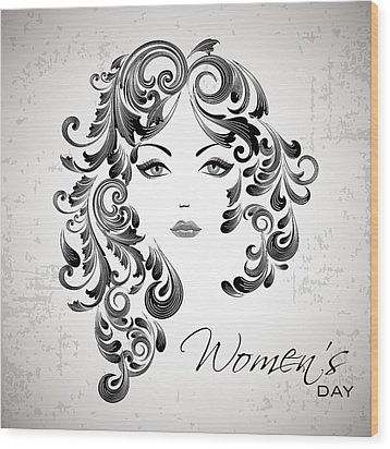 Women's Day Usa Wood Print by Stanley Mathis