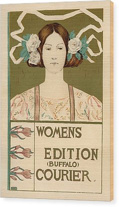 Women's Edition Buffalo Courier Wood Print by Gianfranco Weiss