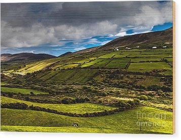 wonderful Ireland Wood Print by Juergen Klust