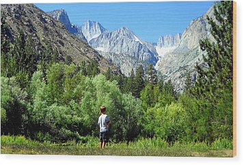 Wood Print featuring the photograph Wonderment by Marilyn Diaz