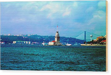 Wood Print featuring the photograph Wonders Of Istanbul by Zafer Gurel