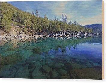 Wood Print featuring the photograph Wondrous Waters by Sean Sarsfield