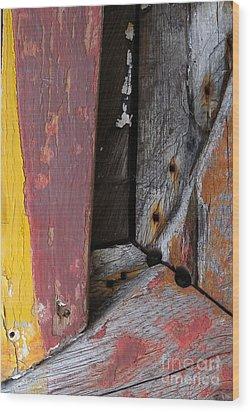 Wood Craft Wood Print by Robert Riordan