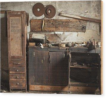 Wood Mill #1 Wood Print
