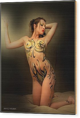 Wood Nymph Wood Print