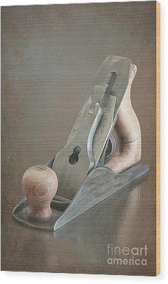 Wood Plane Wood Print by Sophie Vigneault