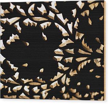 Wood Work Wood Print by Christi Kraft