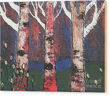 Woodlin Wood Print by Amy Sorrell