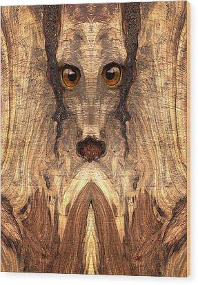 Woody #12 Wood Print